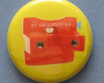 Viewmaster pinback button