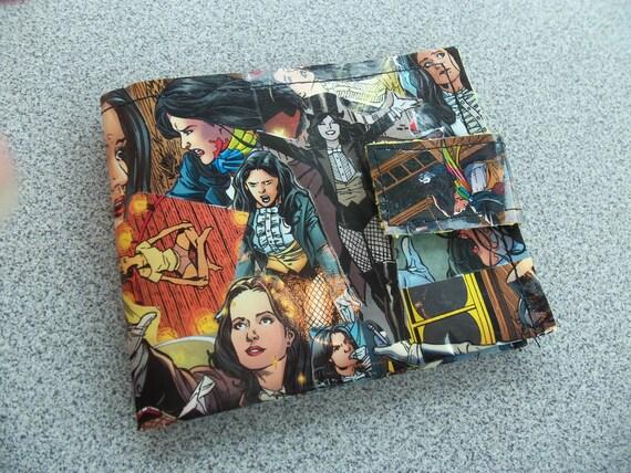 Superhero Comic Wallet - Zantanna
