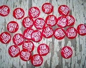 I am lOVED adorn your Loved Ones with a metal Pin reclaimed supply  qty 25