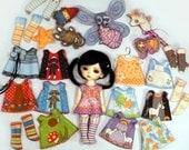 4 Doll Clothing Kits for Lati White PukiPuki Thistledown Tiny BJDs