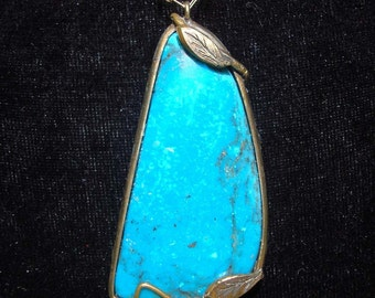 Deep Blue Sea, Turquoise Necklace