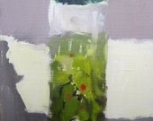 Olives in a Jar Painting