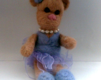 Lila A Needle Felted Collectible from Pixie Doodles
