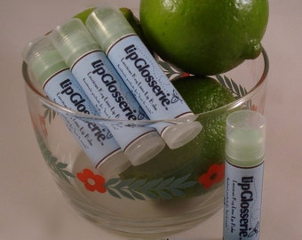Key Lime Lip Balm - Vegan Handmade - Free Shipping