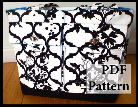 Everything Bag XL- PDF Sewing Pattern Tutorial