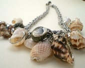 Seashell Cluster Necklace