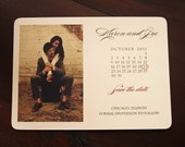 Save the Date Card - Photo Calendar