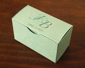 Custom Printed Favor Boxes - Truffle - Small