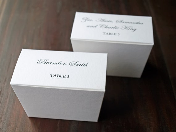 Custom Printed Favor Box - Truffle/Caramels/Bon Bon - Black and White