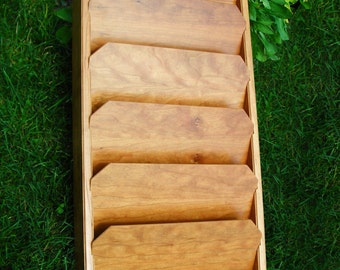 Cherry File Rack