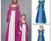 McCall's 6141 Two Renaissance Dresses for Women in Sizes S-XL