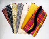 Clutch bag wholesale bundle of 12 assorted envelope handbags