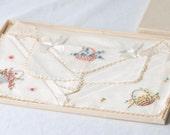 SALE ITEM Vintage Handkerchief In Original Box