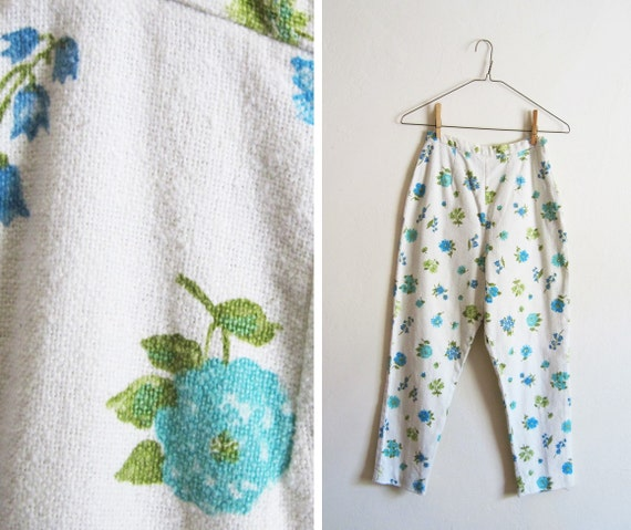 Vintage 1950s Bluebell Capri Pants
