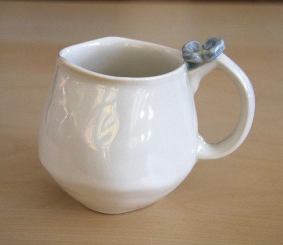 Flower Cup Blue 8oz