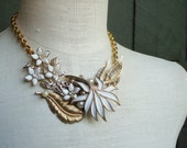 Grace Recycled Revamped Vintage Necklace