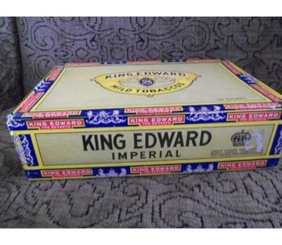 Cigar Box King Edward
