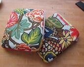 Ipad sleeve with Miang Chai dragon Schumacher fabric