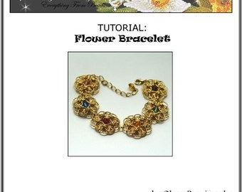 TUTORIAL Flower Bracelet