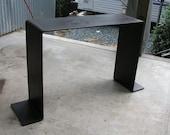 "Ferrous Console Table - 48"""
