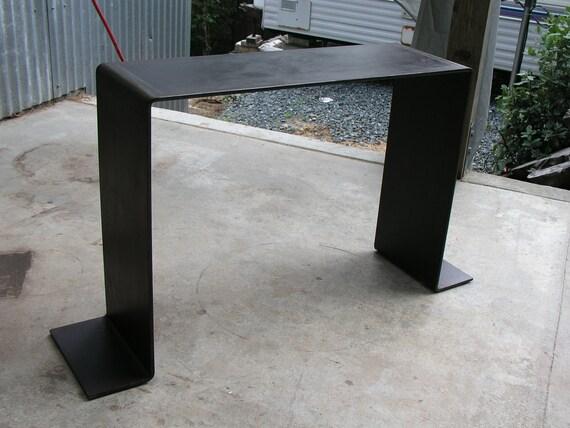 "Ferrous Console Table 60"" Black Finish/33"" tall"