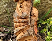 Cottonwood Fairy House Hand Carved - Hideaway