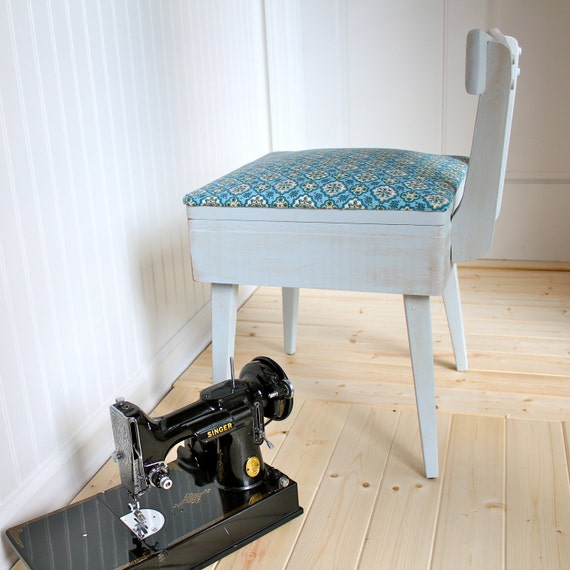 Vintage 1950s Sewing Chair - Reserved until 1/5/12 for Amanda