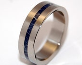 Wedding ring, titanium ring, m3, men's ring, titanium wedding ring, women's ring, something blue – A LITTLE of YOU
