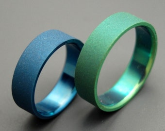 Earth and Sky Ring Set