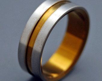 wedding rings, titanium rings, wood rings, mens rings, Titanium Wedding Bands, Eco-Friendly Wedding Rings, Wedding Rings - LORD HENRY BRONZE