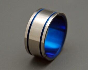 wedding rings, titanium rings, wood rings, men's ring, women's ring, unique wedding ring, engagement rings, commitment ring - ALMA MATER