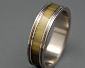 Titanium rings, wedding rings, titanium wedding rings, eco friendly rings, mens ring, women's ring - LIPPIZZAN