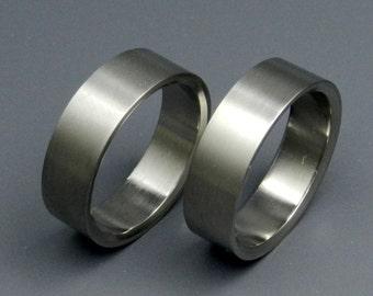 Titanium wedding ring, wedding ring, titaniun rings, mens ring, womens rings, eco-friendly - EDEN