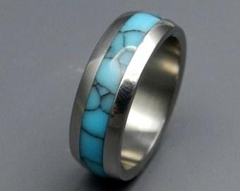 Titanium rings, wedding rings, titanium wedding rings, eco-friendly rings, mens ring, women's ring - ATLANTIS