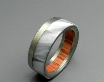 Titanium rings, wedding rings, titanium wedding rings, eco-friendly rings, mens ring, women's ringring - MARBLE TULIP