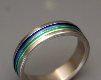 Titanium wedding ring, wedding ring, titaniun rings, mens ring, womens rings, eco-friendly - OLYMPIA