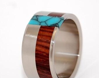 wedding rings, titanium rings, wood rings, mens rings, Titanium Wedding Bands, Eco-Friendly Rings, Wedding Rings - READY FOR BATTLE