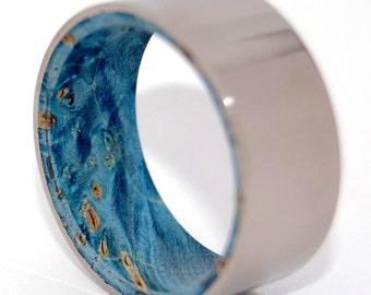 wedding rings, titanium rings, wood rings, mens rings, Titanium Wedding Bands, Eco-Friendly Wedding Rings, Wedding Rings - BLOWN AWAY