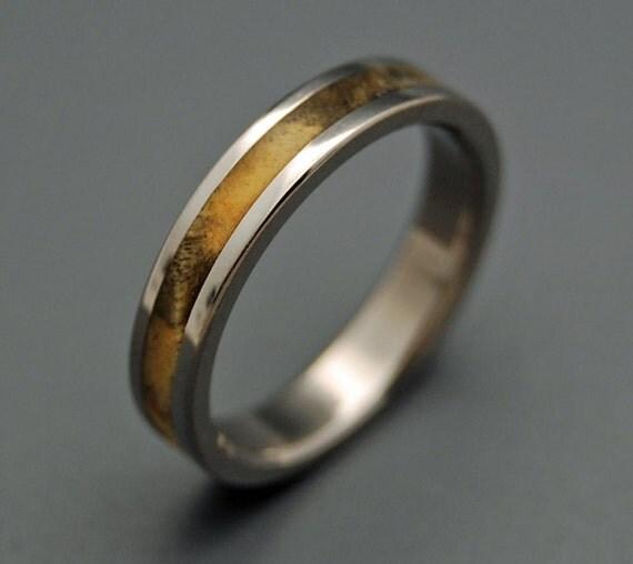 runaway wooden wedding rings by minterandrichterdes on etsy