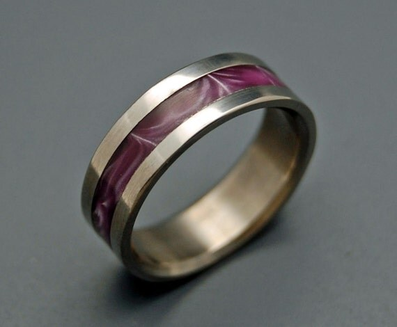 wedding rings, titanium rings, wood rings, mens rings, Titanium Wedding Bands, Eco-Friendly Rings, Wedding Rings - ARCADE