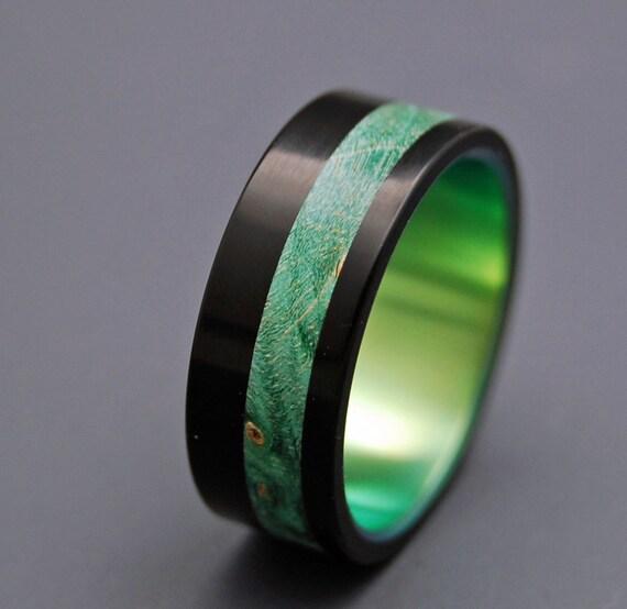 Galway Wooden Wedding Rings By MinterandRichterDes On Etsy
