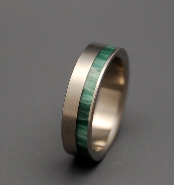 Titanium rings, wedding rings, titanium wedding rings, eco-friendly rings, mens ring, women's ring -FAUNA