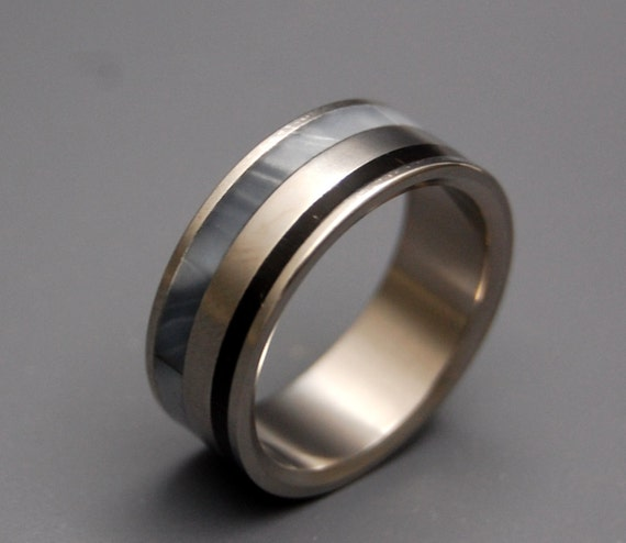 Titanium wedding ring, wedding ring, titaniun rings, mens ring, womens rings, eco-friendly - FORTRESS