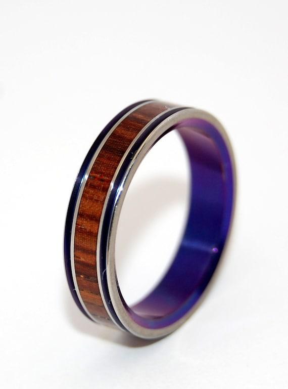 princess leia wooden wedding rings by minterandrichterdes