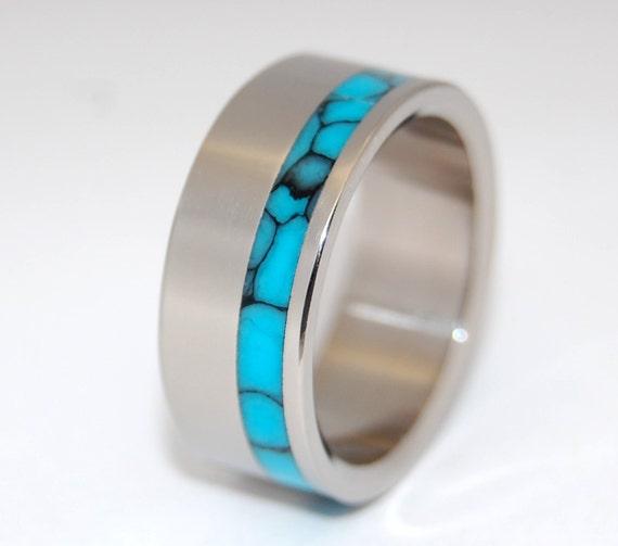 wedding rings, titanium rings, wood rings, mens rings, Titanium Wedding Bands, Eco-Friendly Wedding Rings, Wedding Rings - MOONBIRD