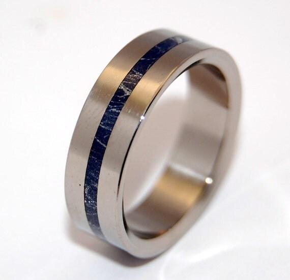 Wedding ring, titanium ring, m3, men's ring, titanium wedding ring, women's ring, something blue – A LITTLE of YOU