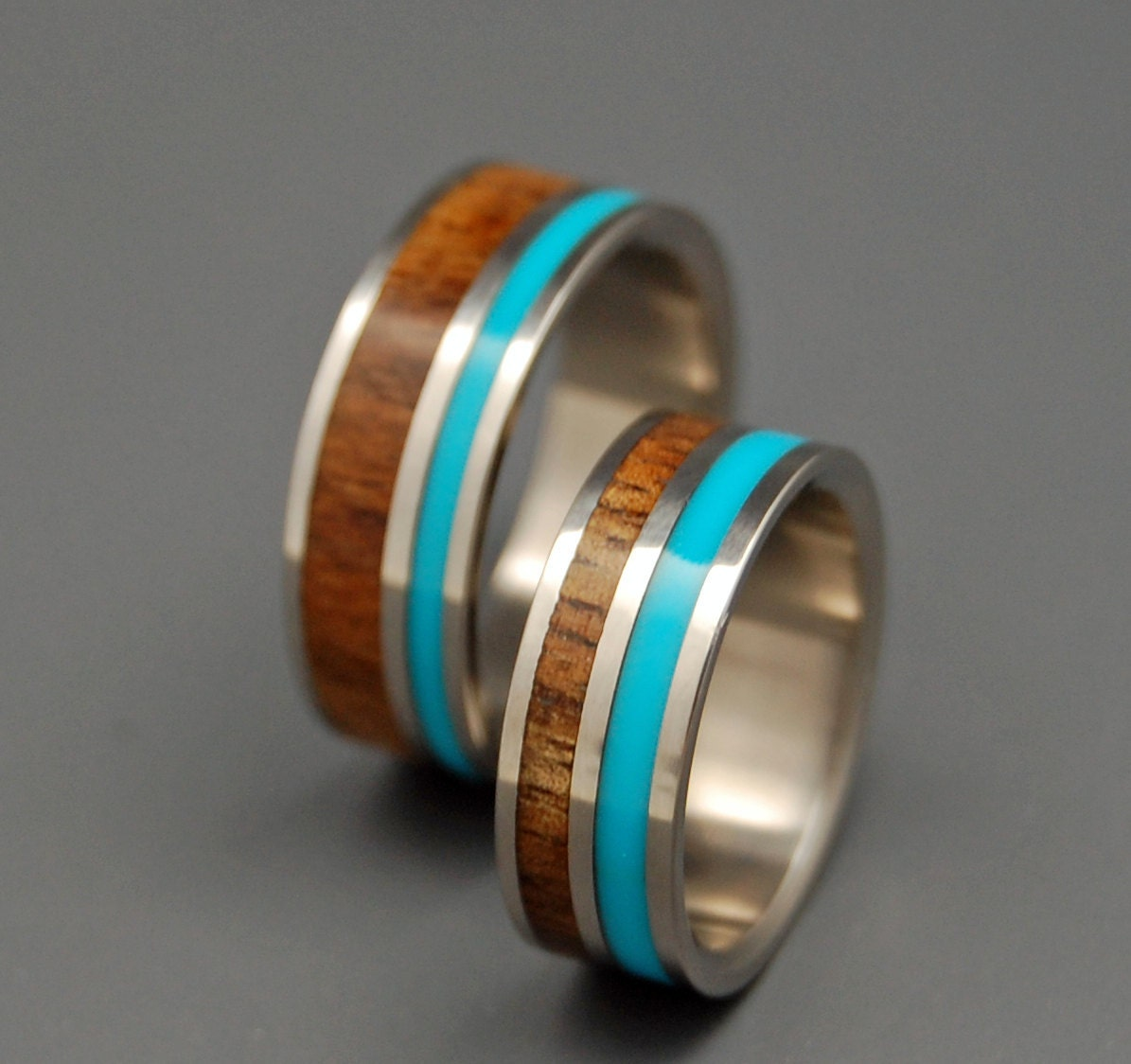 zoom - Wooden Wedding Rings
