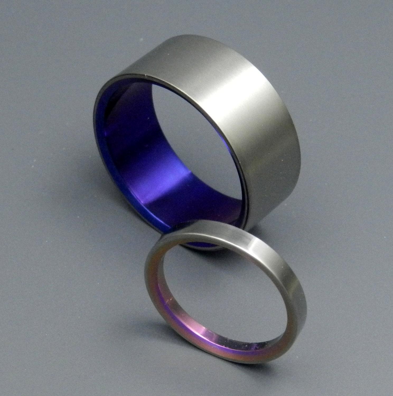 titanium wedding bands unique titanium wedding bands