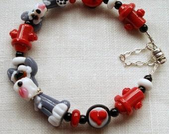 Schneuzer Dog Bracelet, Schneuzer Pup, Dog Bracelet, Dog Lovers, Puppy