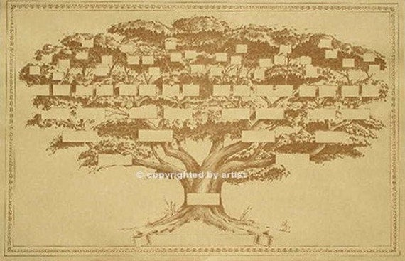 Fancy family tree template 5677573 - hitori49 info